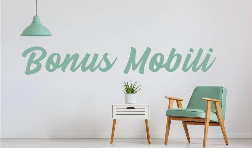 Sale da 10mila a 16mila euro il tetto per il bonus mobili