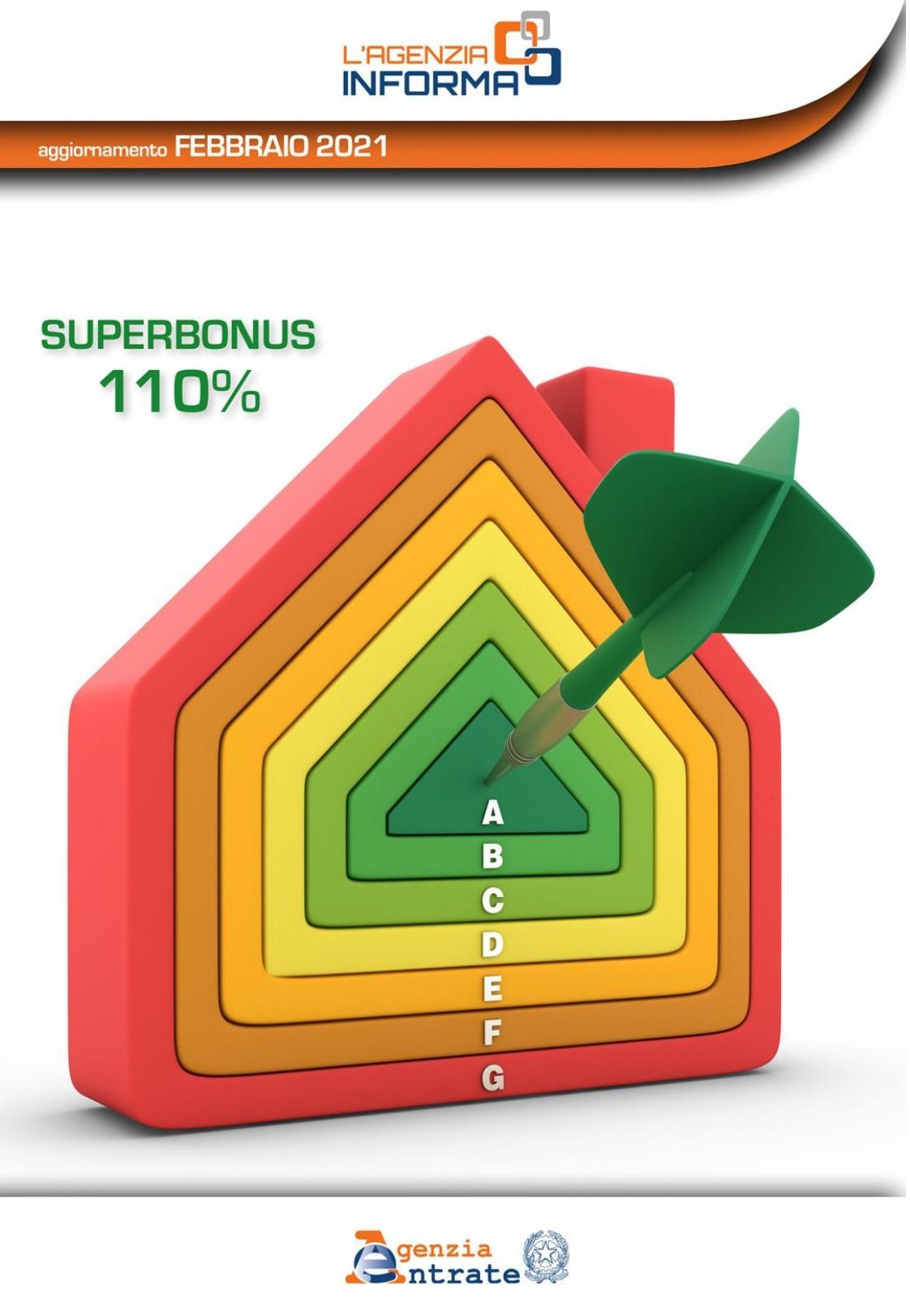 Guida dell'Agenzia delle Entrate – Superbonus 110% (febbraio 2021)